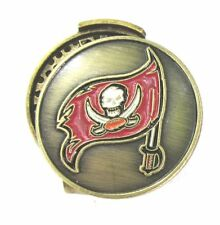 Tampa Bay Buccaneers Hat Clip with Golf Ball Marker
