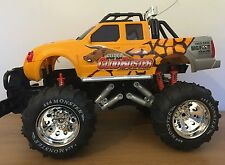 EXTRA LARGE BIGFOOT MONSTER TRUCK RECHARGEABLE RADIO REMOTE CONTROL CAR 1:8 50CM