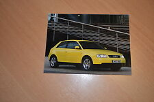 PHOTO DE PRESSE ( PRESS PHOTO ) Audi A3 1.8T Quattro de 1999 AU100
