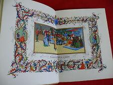 Charles d'ORLÉANS - POÉSIES ++ illustré MINIATURES André HUBERT + RELIURE + N°té