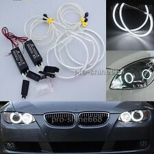 Headlight illumination 4X CCFL Angel Eye 2x Inverters kit for 99-04 BMW E53 / X5