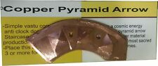 Clock Wise Arrow - Copper Pyramid - Vastu Remedies Tool for Anti Clock Door