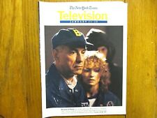 January 24, 1993 N Y Times TV Magazine(MARIA  PITILLO/ALAN  ARKIN/COOPERSTOWN)