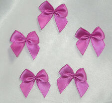 "Polyester Satin Ribbon Bows 1"" 100 Piece Pack USA Seller"