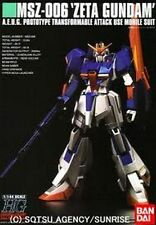 SALE 15% OFF HGUC ZETA GUNDAM MSZ-006 BANDAI MODEL KITS G-49 4543112385581