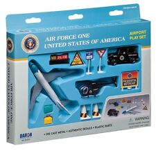 Daron Air Force One President Airport plane helicopter playset w Boeing 747 D10