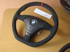 BMW E31 E36 E34 Z3 Thick soft suede custom Alcantara Steering wheel flat bottom
