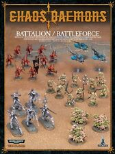 Chaos Daemons Battalion/Battleforce Warhammer Fantasy/Warhammer 40K NEW