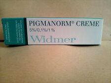 PIGMANORM CREAM 15GR NEW BOXED 9/2018 LOUIS WIDMER blemishes,spots,effective