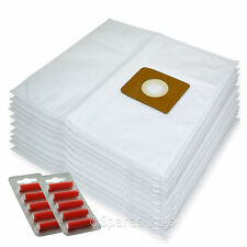 10 x Cloth Vacuum Bags For Nilfisk King Series Hoover Bag + Fresh