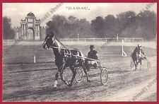 FAENZA CORSE AL TROTTO CAMPIONATO EUROPEO 1911 BABAU - HORSE TROT Cartolina