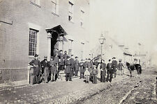 8x12 Photo Shows City Hotel in Alexandria, Virginia now known as Gadsby's Tavern