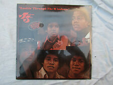 JACKSON FIVE 5 LP LOOKIN' THROUGH THE WINDOWS ...... NEW & SEALED 33rpm