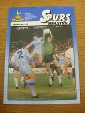 11/01/1984 Tottenham Hotspur v Fulham [FA Cup] . Item appears to be in good cond