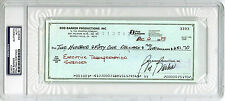 Bob Barker SIGNED Check Host of The Price is Right PSA/DNA AUTOGRAPHED