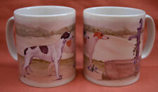 GREYHOUND DOG Mug watercolour painting Sandra Coen Off to the Dog Show print