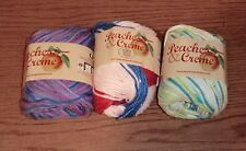 Lot of 3 Skeins as Shown In Picture, Peaches & Creme or n Cream Yarn