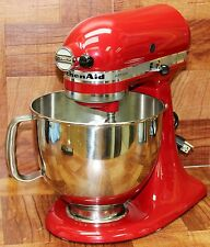 KitchenAid Artisan Series 5 Qt. Stand Mixer in Empire Red Color Model KSM150PSER