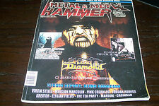 METAL HAMMER MAGAZINE 1/2002 KING DIAMOND CHUCK SCHULDINER DEATH VIRGIN STEELE