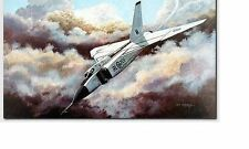 Don Connolly - Letting Down - Aviation Art Avro Arrow