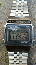 Vintage Seiko A159-5009-G Quartz LC Alarm Chrono