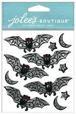 Jolee's BLACK & WHITE BATS REPEATS Stickers HALLOWEEN