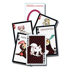 PUELLA MAGI MADOKA MAGICA   Spielkarten / Pokerkarten offiziel lizenziert