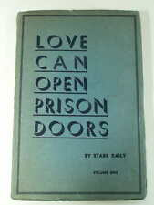 1935 STARR DAILY SIGNED LOVE CAN OPEN PRISON DOORS Christian Prisoner Redemption