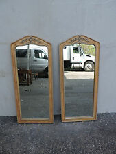 Pair of French Wall Mirrors by American of Martinsville 6382