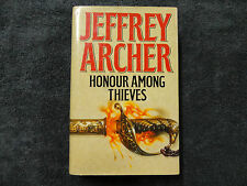 HONOUR AMONG THIEVES  BY  JEFFREY ARCHER ( HARDCOVER BOOK ) **