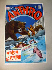 ANTHRO #5 COVER ART, original approval cover proof 1960'S BEARS