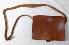 HAND MADE FAIR TRADE BOHO VINTAGE LEATHER STYLE SATCHEL BAG FROM MOROCCO