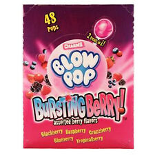 Charms Blow Pop Burst Berry 1 Ct Each ( 48 In A Pack )