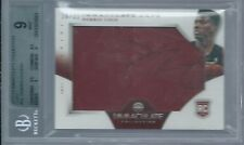 2012-13 Immaculate Norris Cole Caps CAP RELIC RC 26/31 BGS 9 MINT W/ AUTO!