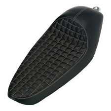 Biltwell Cafe Racer Asiento Checkerboard,para Harley Davidson Sportster 86 03