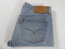 Rare Mens Levis Strauss & Co 501XX Jeans, Size W34 L30, Blue Made in USA #NDR321