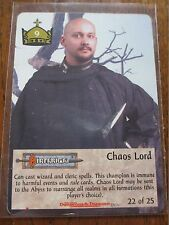 SPELLFIRE - CHAOS LORD - DUN 22 25 Dungeons Chase card Ultra Rare - TSR ccg #22