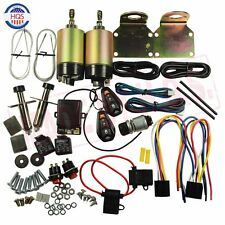 85 lb With Remote Shaved Door Handle Kit 2 Doors Popper Solenoid Street Rat New