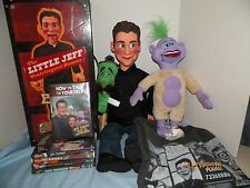 Jeff Dunham HUGE LOT! Lil Jeff Ventriloquist, Talking Peanut, Jose, DVDs, & MORE