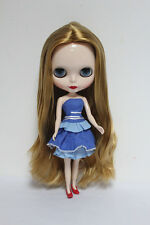 "12"" Neo Blythe Takara doll from factory light Brown middle hair S843 Xmas gift"