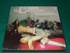 José Carreras, Jessye Norman, Clifford Grant,Verdi il corsaro box 2 lp usato