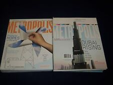 2000S METROPOLIS MAGAZINE LOT OF 12 ISSUES - DESIGN - ARCHITECTURE - O 637