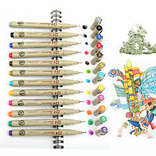 Pro 12Colors Sketch Drawing Markers Pen Art Manga Head Paint Copic Graphic Sets