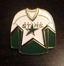 NHL Dallas Stars Jersey Pin, Badge, Lapel, Hockey