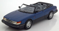 1987 Saab 900 S Convertible Blue Met by BoS Models LE of 1000 1/18 Scale New!
