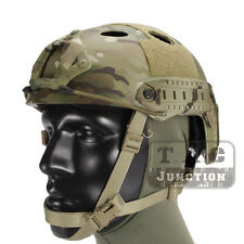 Emerson Tactical Fast Helmet PJ Type Advanced Adjustment w/NVG Shroud+Side Rail