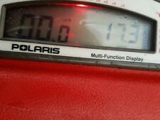 Polaris MFD digital gauge screen. (17.3 HOURS) jet ski slx 780