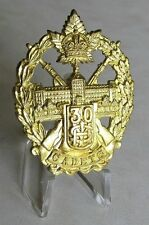 COTC - Mount St.Louis College Cap Badge - Montreal P.Q. Authorized 1941 WWII WW2