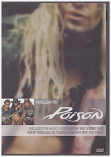 POISON VIDEO HITS (DVD, 2005)