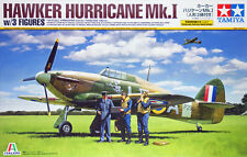 Tamiya 37011 Hawker Hurricane Mk.I w/3 Figures 1/48 scale kit